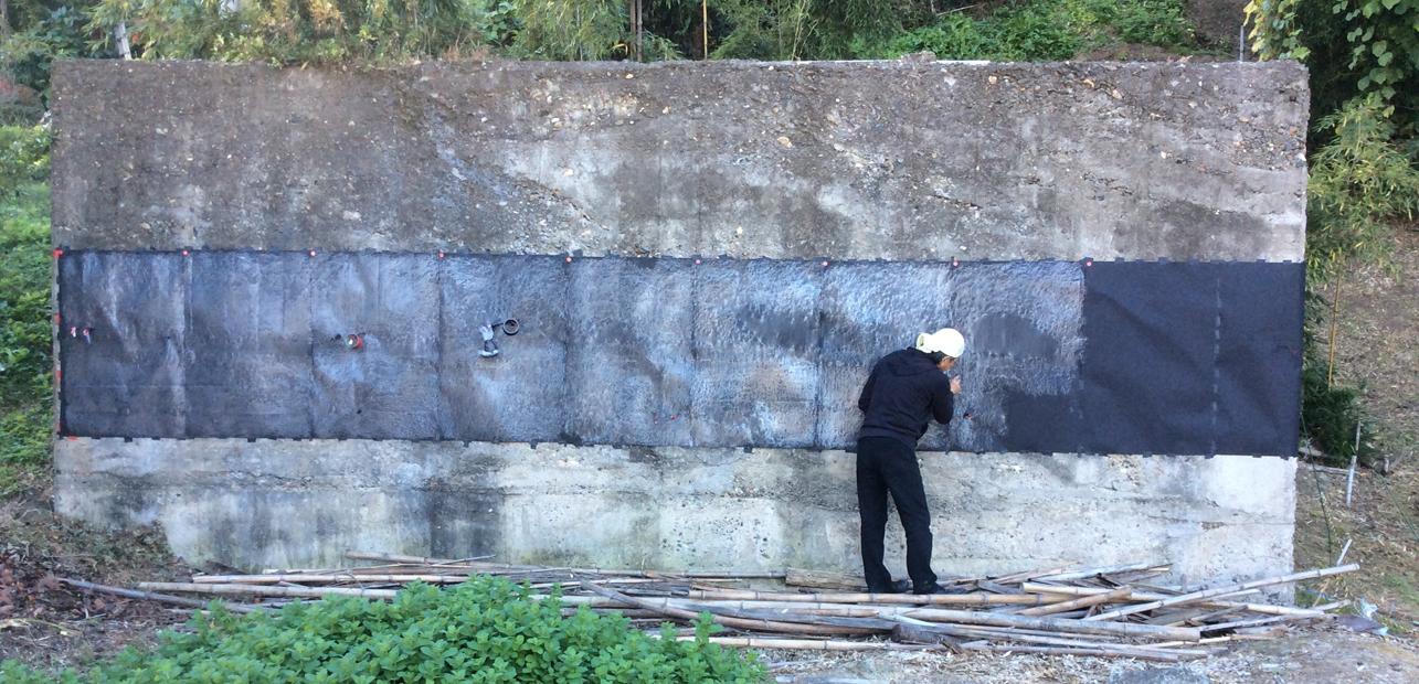ZIRCON 旧理研扶桑稀元素工業第806工場跡での公開制作 2015  photo/はま・なか・あいづ文化連携プロジェクト実行委員会